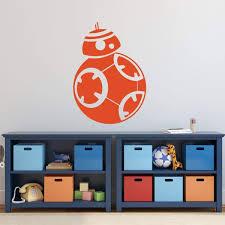 Custom Star Wars Bb8 Wall Vinyl Decor Wall Decal Customvinyldecor Com