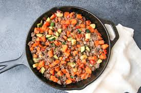 beef sweet potato hash mada leigh