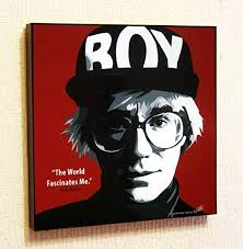 com andy warhol poster pop art canvas quotes wall decals