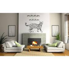 Shop Bengal Cat Breed Cat Kitten Pet Wall Art Sticker Decal Overstock 11371422