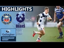 premiership rugby highlights bath v