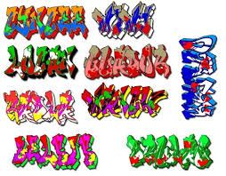 how to pick a graffiti names with