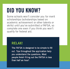 FAFSA (Federal Application For Student ...