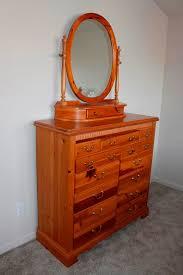 pine finish 14 drawer dresser