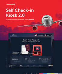 Turkish Airlines Kiosk 2.0 on Behance