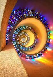 not stairs glory window chapel of