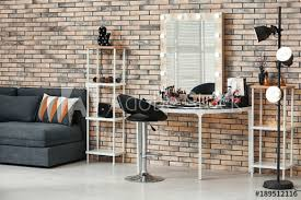 makeup room with decorative cosmetics