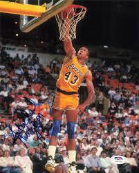 Mychal Thompson signed 8x10 photo PSA/DNA Los Angeles Lakers Autograph –  Golden State Memorabilia