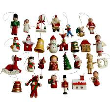 vine wooden christmas tree ornaments