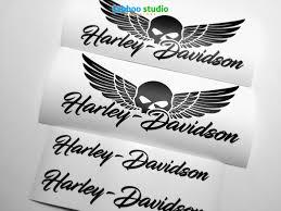 Harley Davidson Logo Vinyl Wall Decals Sayings For Sale Interior Turtle Design Bunny 3d Pokemon Philippines Vamosrayos