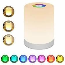 Night Light For Kids Lightimes Touch Lamp For Bedrooms Living Room White Ebay