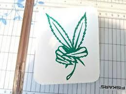 Peace Pot Leaf Cannabis Vinyl Decal Sticker 420 Marijuana Weed 4 Ebay