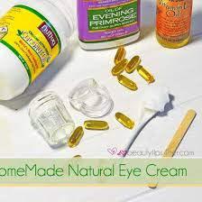 homemade eye cream how to get rid of