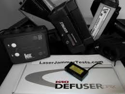 k40 defuser optix review laser jammer