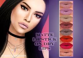 matte lipstick on dry lips at angissi