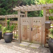 Deer Fence Design Ideas Pictures Remodel And Decor Garden Gate Design Garden Entrance Backyard Fences