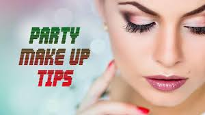 party make up tips party eye makeup