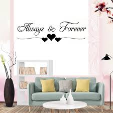 Family Always Forever Removable Wall Stickers Quote Wall Decal Art Mural Decor Home Garden Children S Bedroom Boy Decor Decals Stickers Vinyl Art