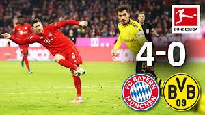FC Bayern München vs. Borussia Dortmund I 4-0 I Der Klassiker ...