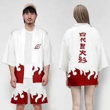 Nhật Bản Anime Naruto Hokage Akatsuki Cosplay Kimono Haori Nam Nữ ...