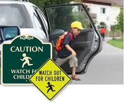 Watch For Children Signs Smartsign