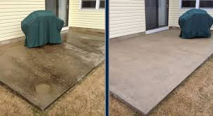 concrete and cement washing and sealing