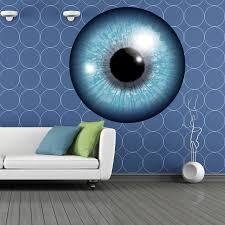 Shop Full Color Big Eye Space Watchig Full Color Wall Decal Sticker Sticker Decal Size 48x48 Overstock 14834373