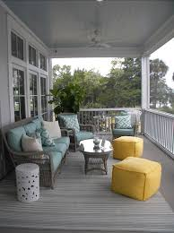 beach house style front porch
