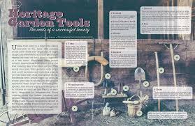 Heritage Garden Tools Edible Indy