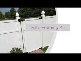 Freedom Gate Framing Kit For Pre Assembled Panels Installation Overview Youtube