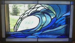 stained glass ocean patterns glasses blog