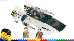 JANGbricks - LEGO Star Wars Resistance A-Wing quick review! 75248 ...