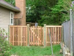 9 Cedar Spaced Picket Flat Top Modern Garden Landscaping Cedar Fence Fence Design