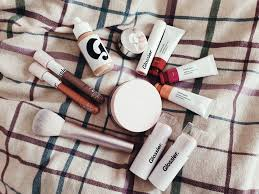 i tried a full face of glossier make up