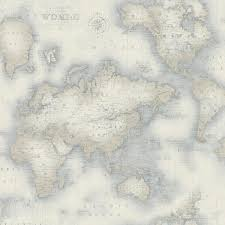 chesapeake mercator blue world map