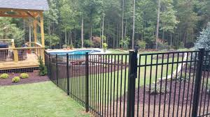 Aluminum Fence Upchurch Fence Company