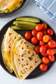 Healthy Tuna Melt Quesadillas - Hungry ...