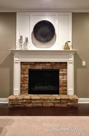 diy board and batten fireplace