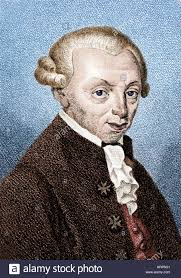 Immanuel Kant, German Philosopher Stock Photo - Alamy