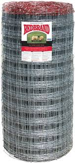 Red Brand 70315 Sheep And Goat Fence With Square Deal Knot 330 Ft Roll L 48 In H X 12 5 Ga T