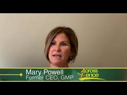 10 21 20 A Talk With Mary Powell Former Ceo Of Gmp On Across The Fence Youtube