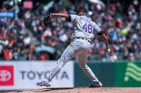 German Marquez guides Rockies to a much-needed victory
