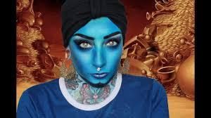 genie inspired makeup tutorial
