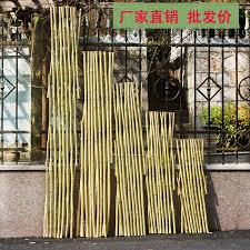 The Retractable Pull Net Bamboo Fence Garden Fence Courtyard Decorates The Guardrail To Separate The Vegetable