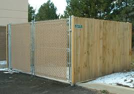 Dumpster Garbage Recycle Area Fencing For Buffalo Ny Western New York