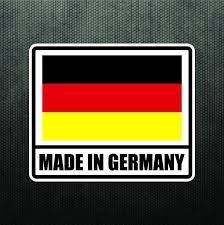 Made In Germany Vinyl Bumper Sticker Decal German Sport Car Decal For Bmw Benz Truck Bumper Stickers Vinyl Bumper Stickers Bumper Stickers