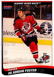 Amazon.com: (CI) Adrian Foster Hockey Card 2003-04 Albany River Rats (base)  11 Adrian Foster: Collectibles & Fine Art