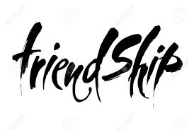 friendship vector typographic design inspirational quotes