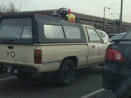 I Saw The Pizza Planet Car Fro Toy Story At The Mall Imgur