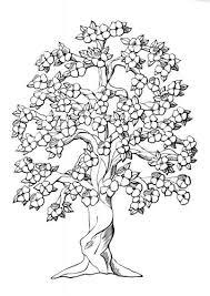Another Perfect Tree Idea For Quilling Kleurplaat Boom Met